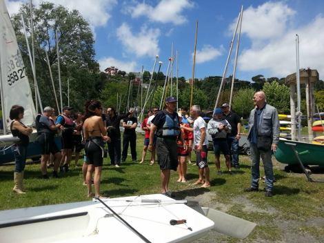 Briefing pre-regata